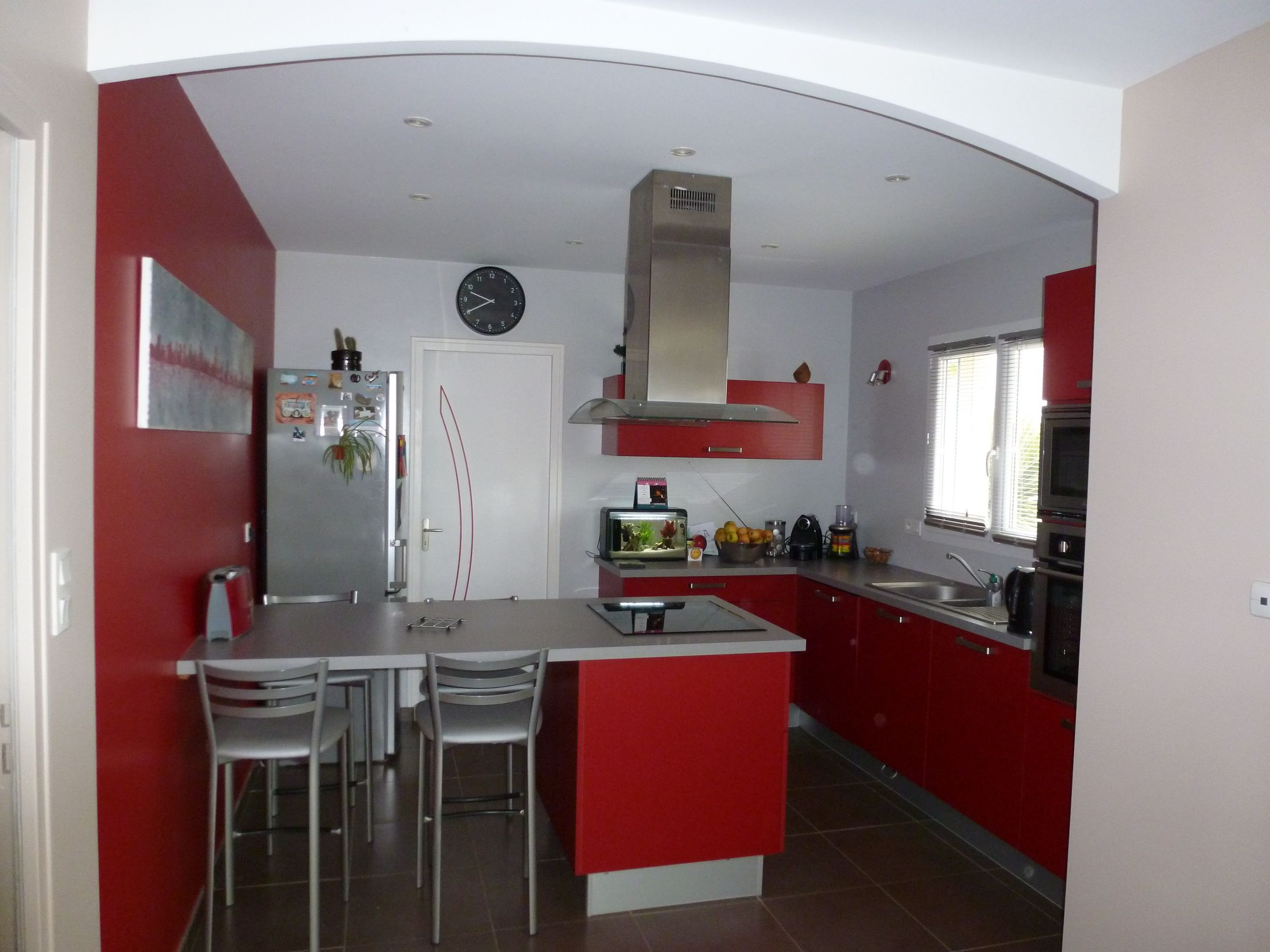 Décoration peintures de cuisines exemples photos...