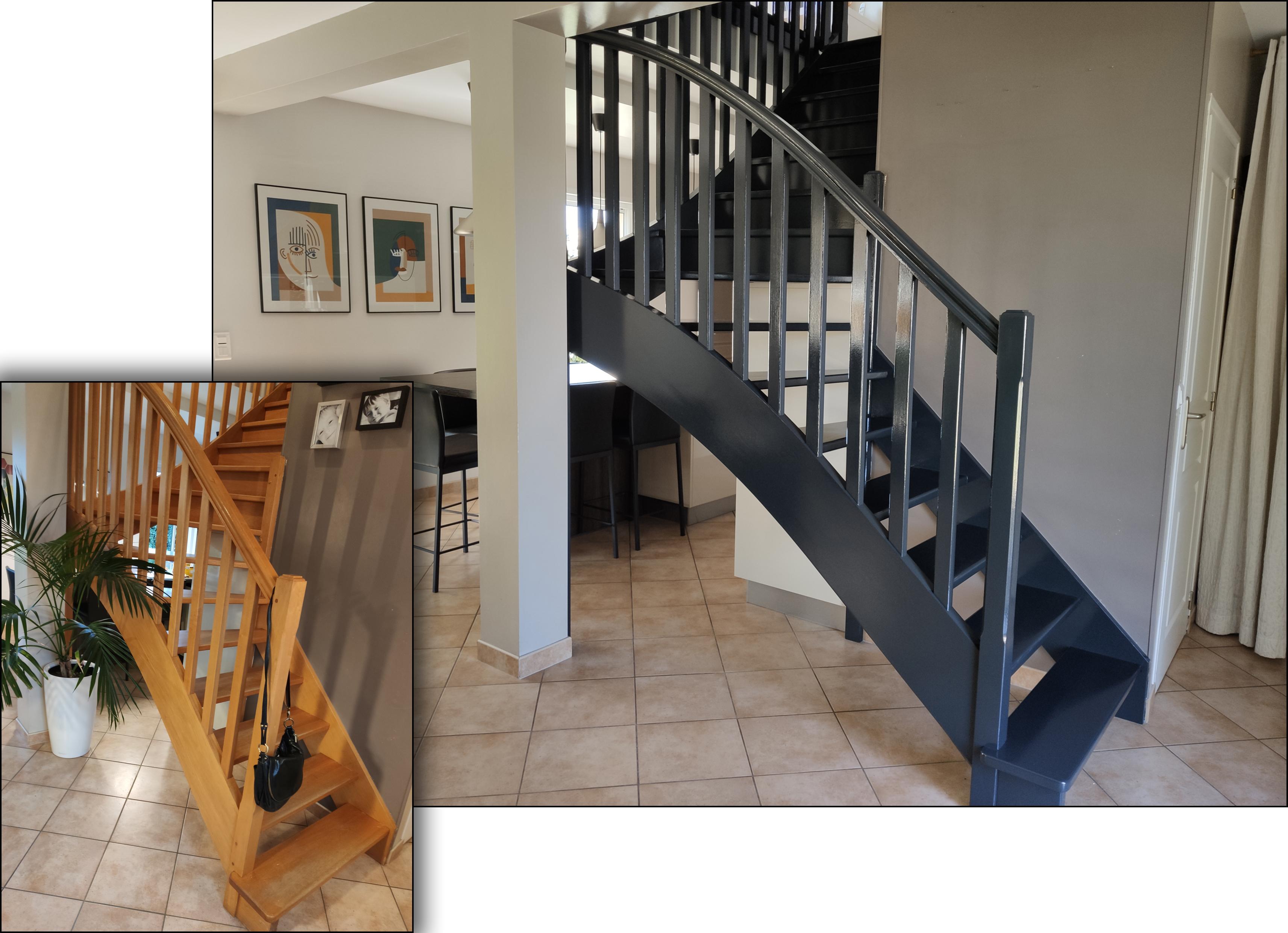 Decoration Peintures Escaliers Exemples Photos
