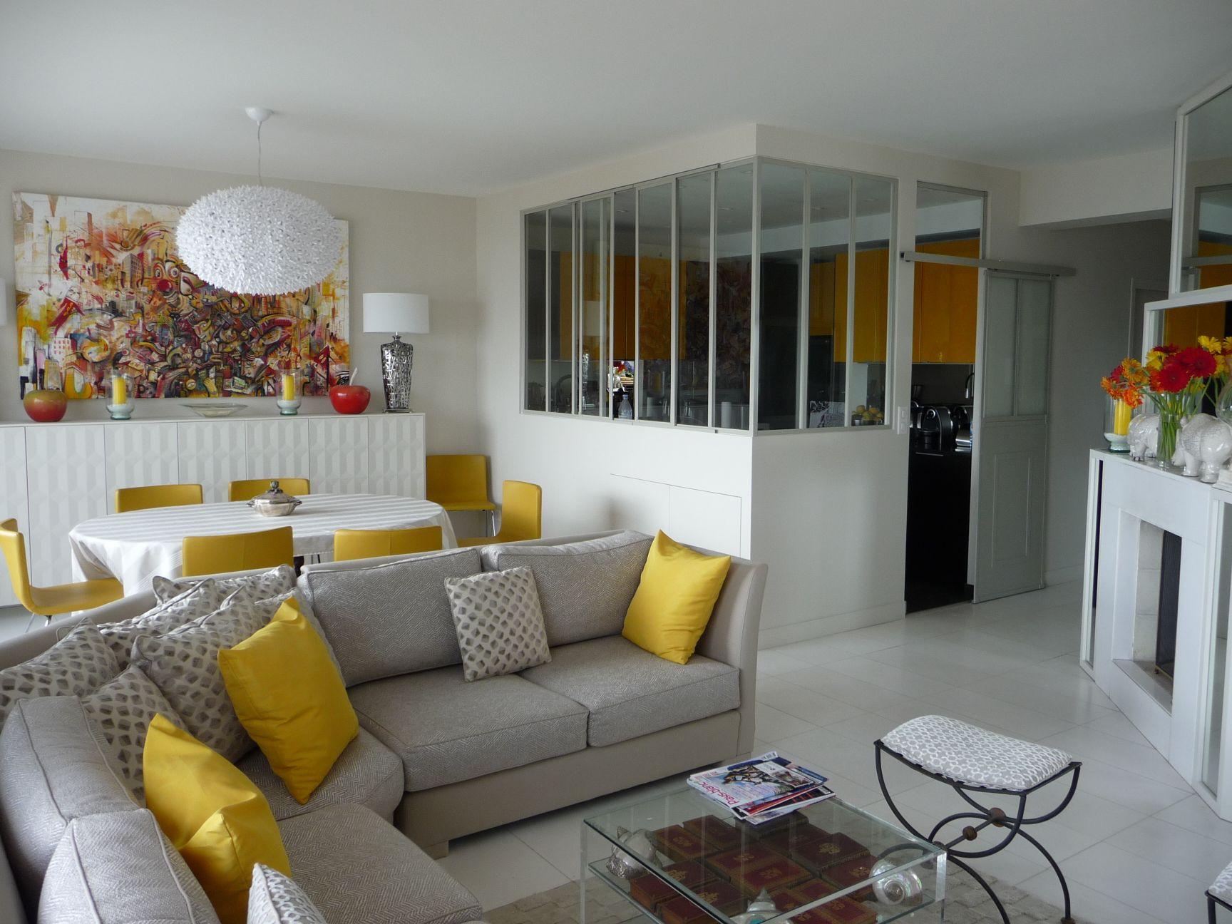 Sejour Salon décoration peintures de salon et de séjour exemples photos
