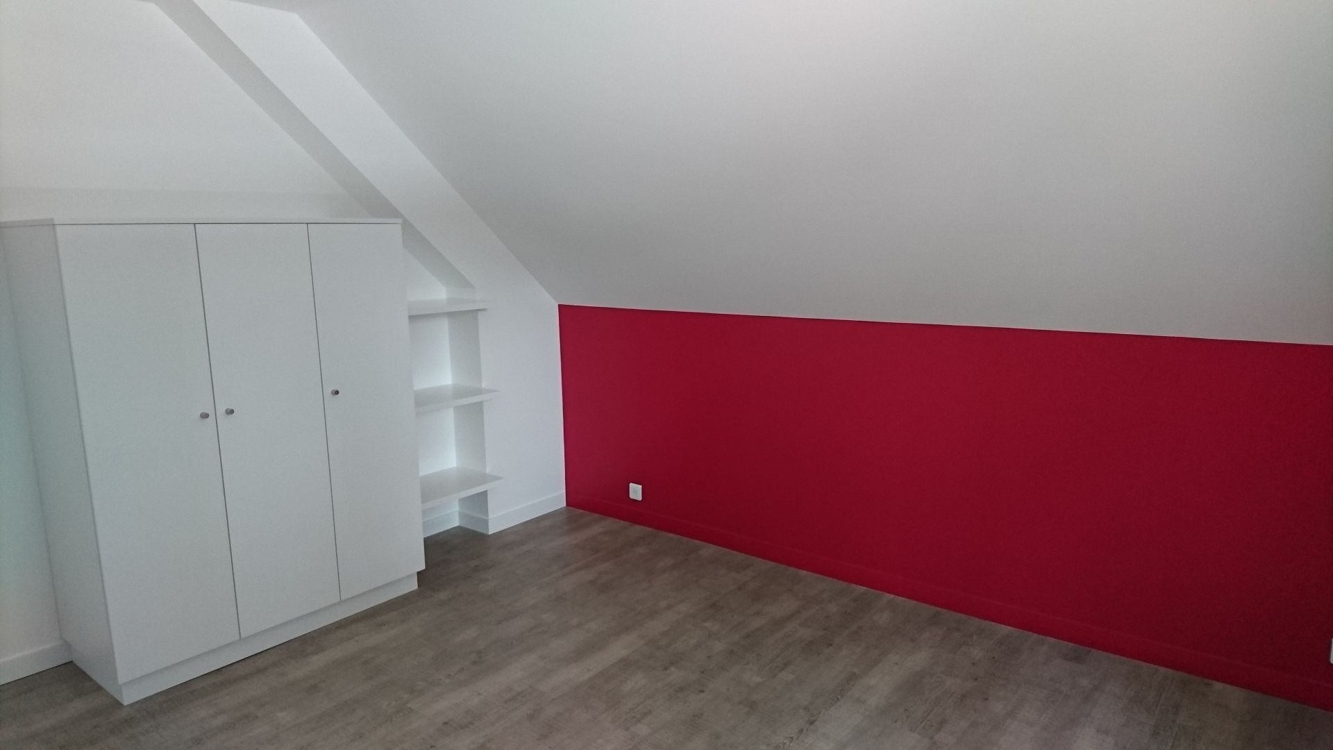 Rouge Dans Une Chambre décoration peintures de chambres exemples photos