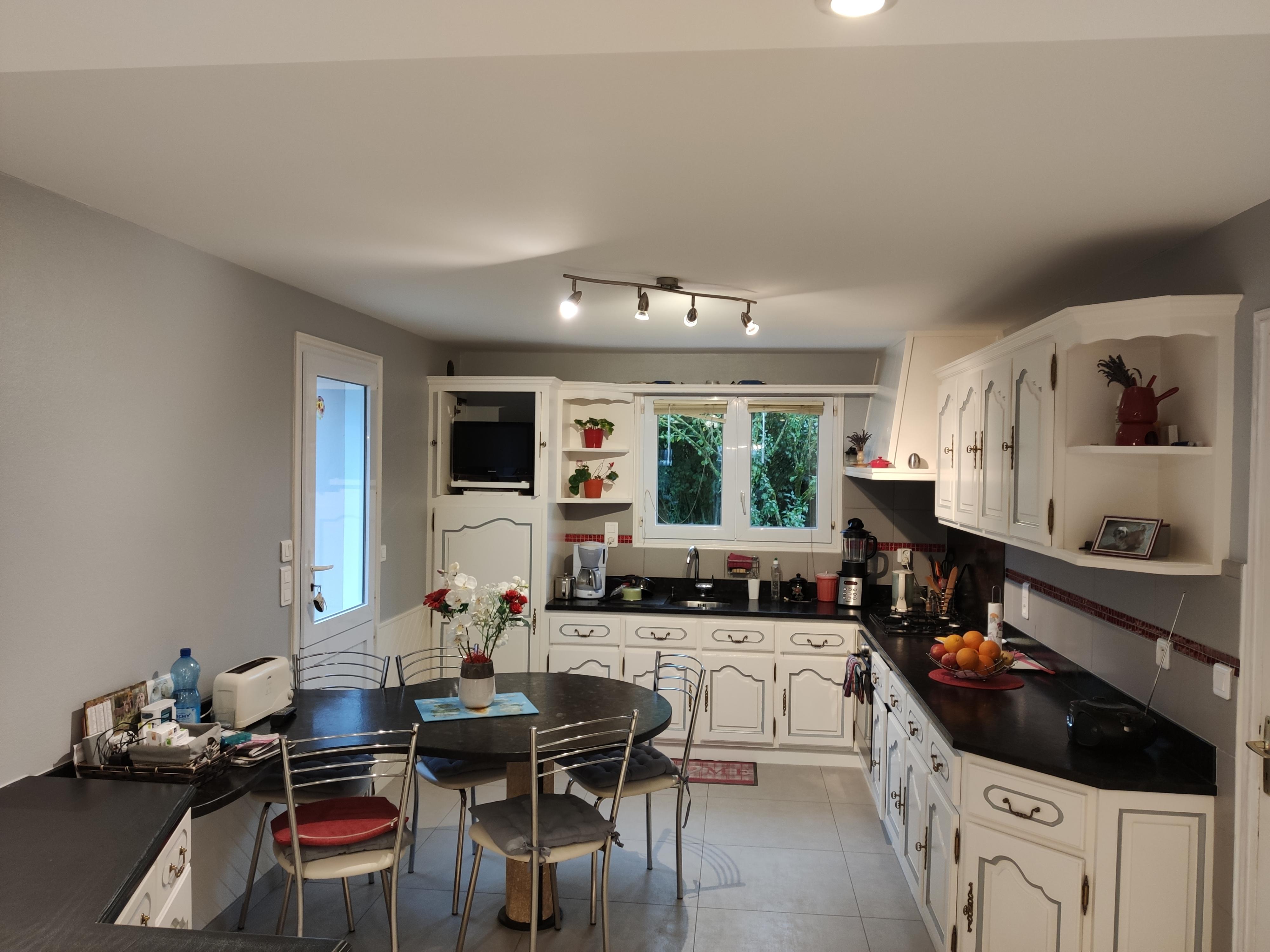 Décoration peintures de cuisines exemples photos