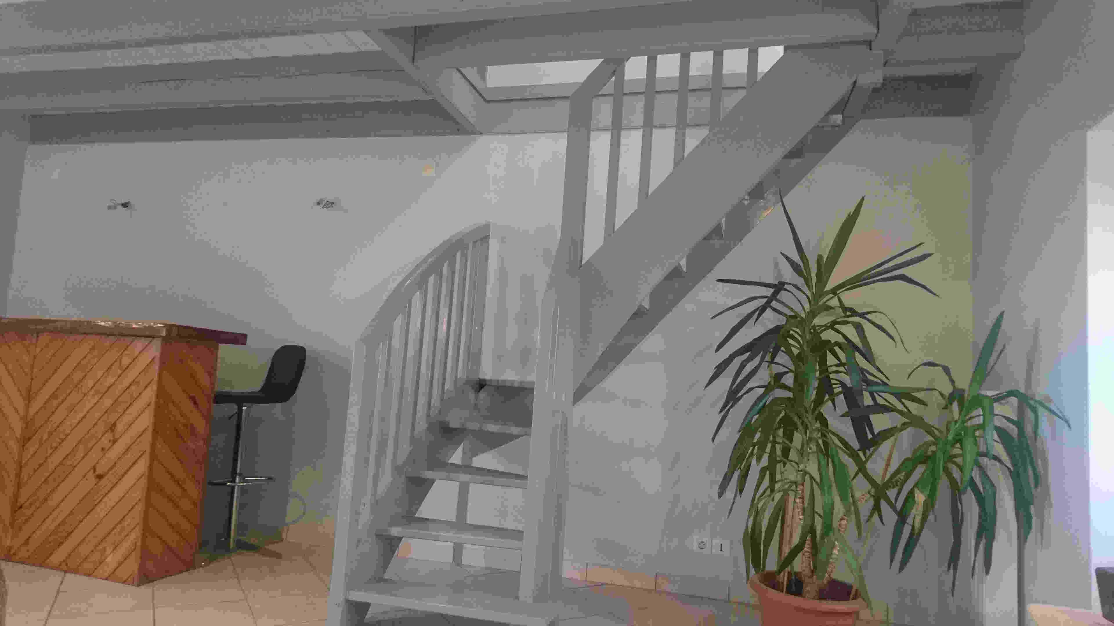 Peindre Un Escalier En Gris décoration peintures escaliers exemples photos