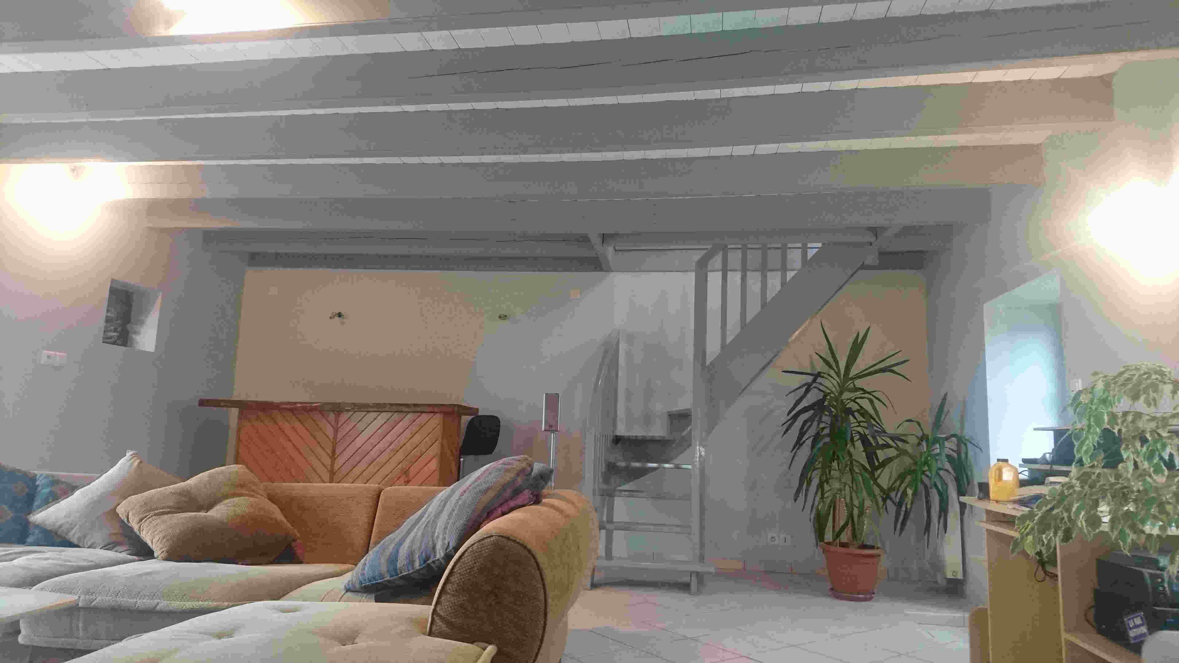 Deco Salon Mur Blanc décoration peintures de salon et de séjour exemples photos